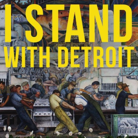 Stand with D