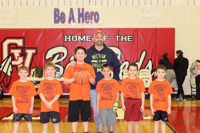 Gavin basketball team 2nd grade